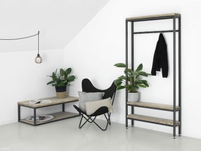Industriedesign Garderobe