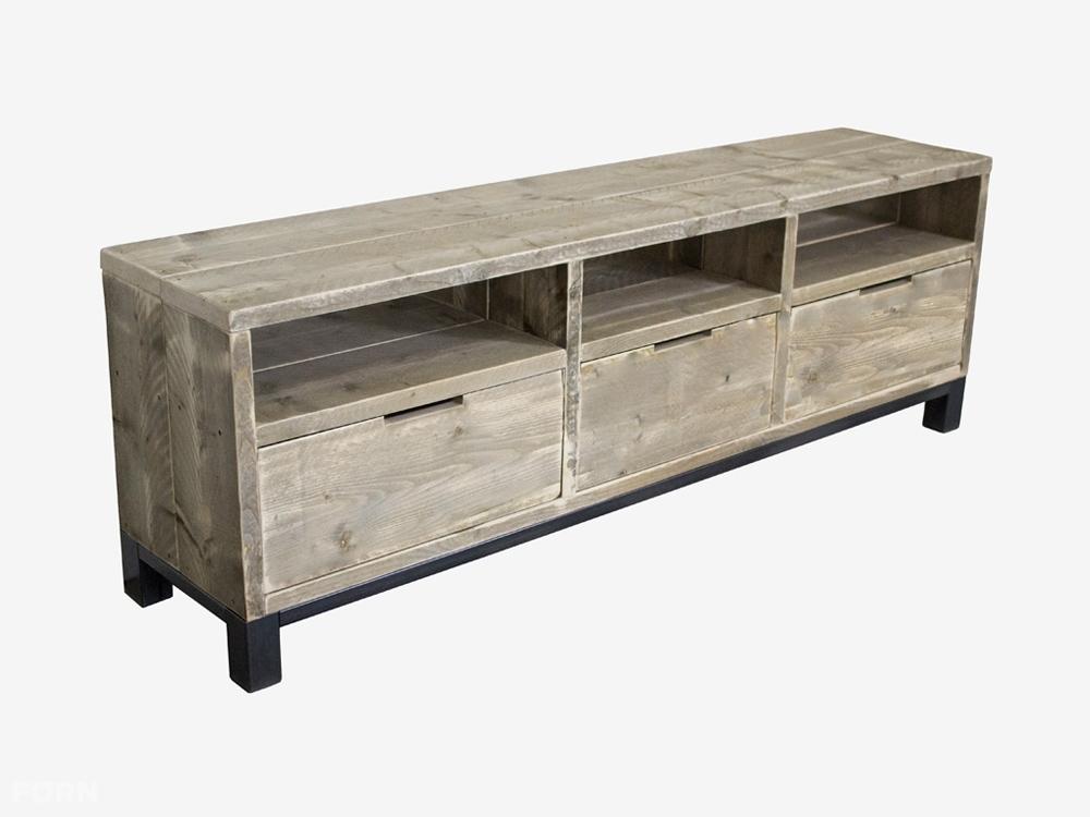 Steigerhout Meubels Goedkoop : Steigerhout meubels goedkoop: tv meubel industrieel het