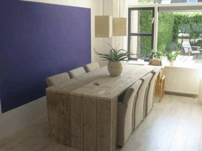 Bauholz Esstisch