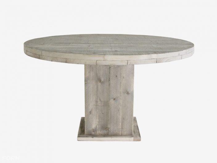 Runder Bauholz Tisch Emma