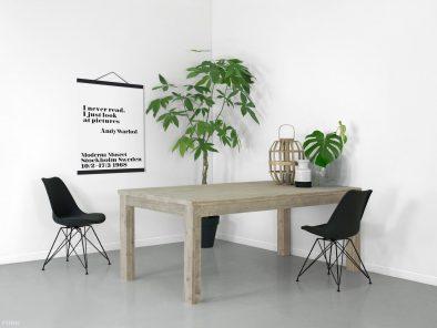 Bauholz Tisch eindrucksfoto