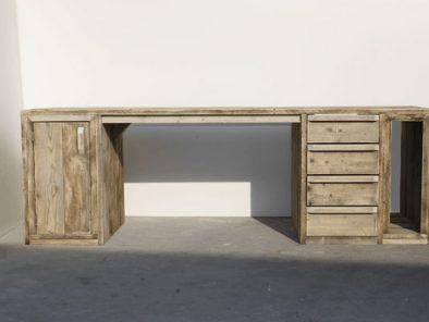 Bauholz Schreibtisch
