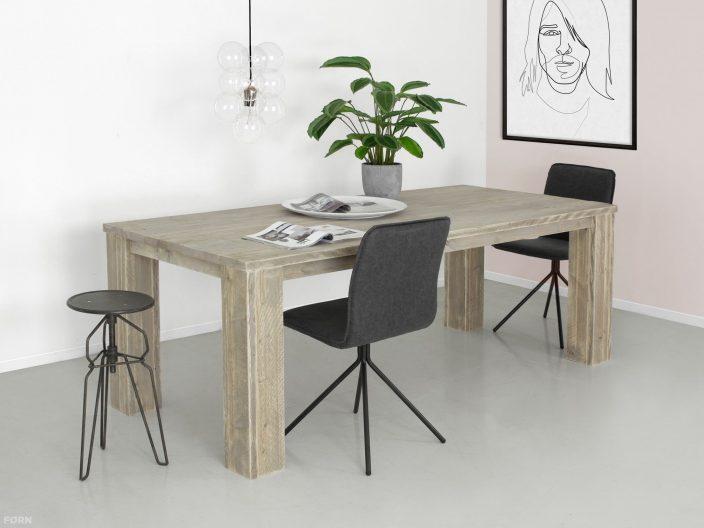 Bauholz Tisch Eden Eindruk