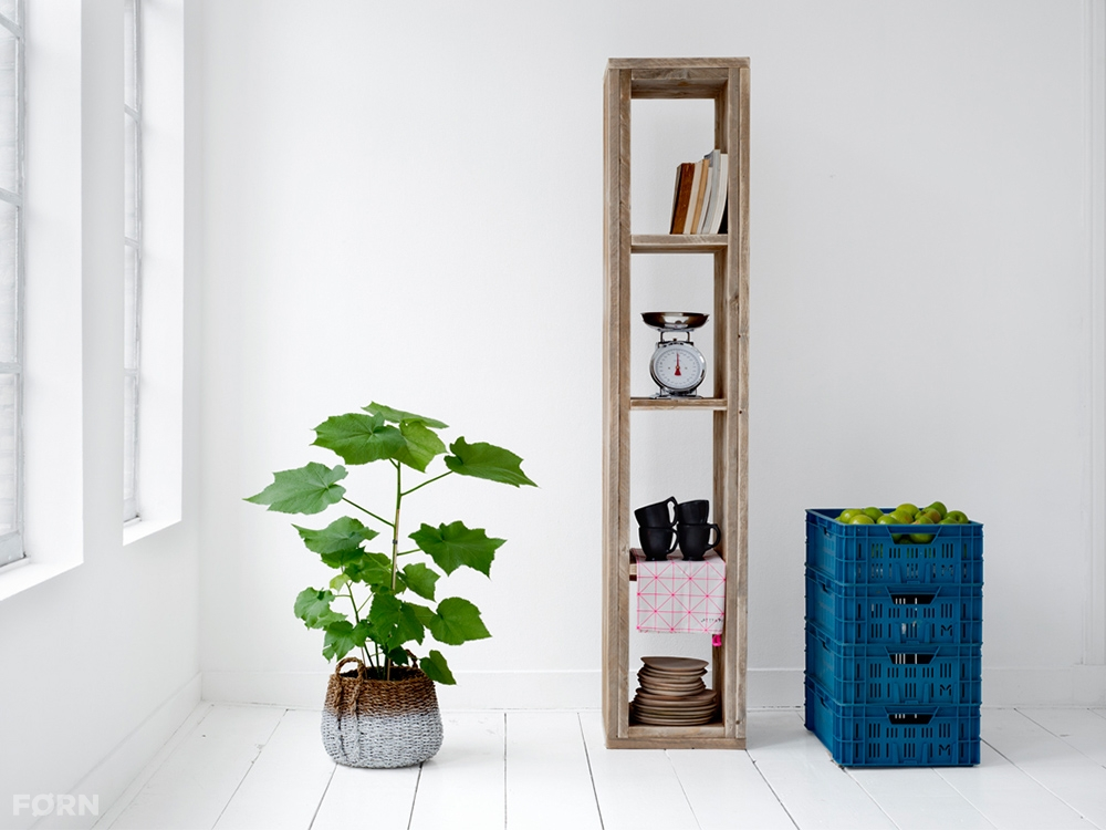 bauholz regal mit f chern bauholz m bel dutch design. Black Bedroom Furniture Sets. Home Design Ideas