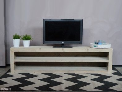 Bauholz TV Lowboard Holz