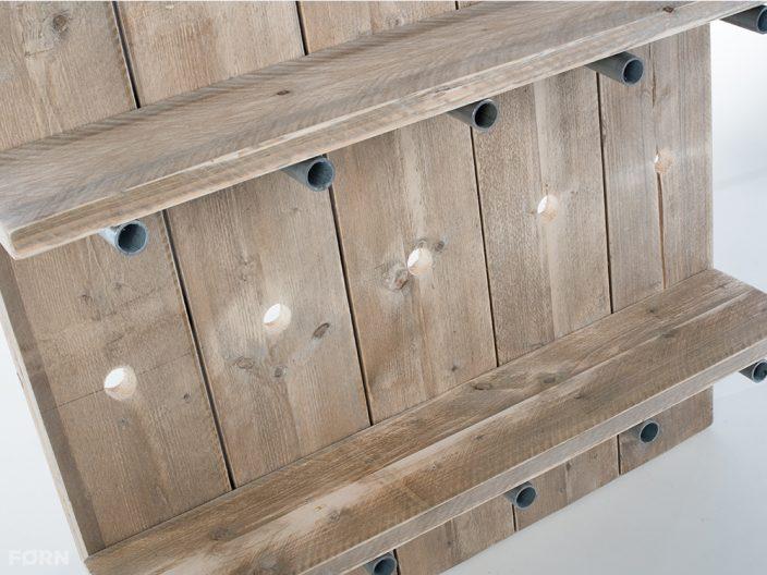 Holz Regalsystem Kaja aus Bauholz