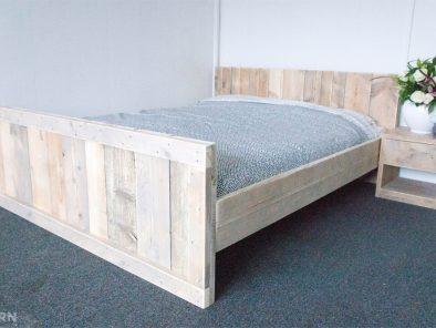 Bauholz Doppelbett Alna