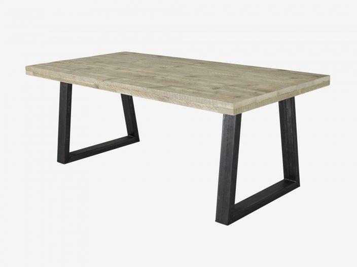 Industriedesign Tisch Trapez
