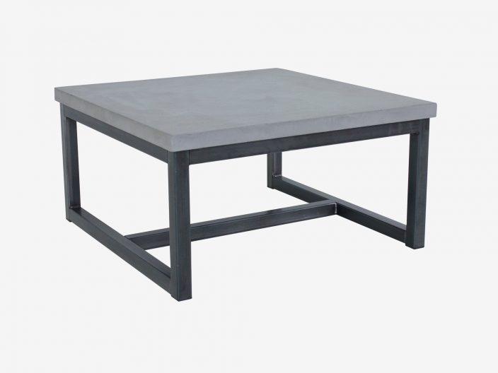 Couchtisch mit beton look Max in industriedesign.